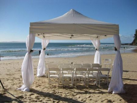 3m x 3m Marquee - in romantic setting. & Weddings - Marquee Hire Perth